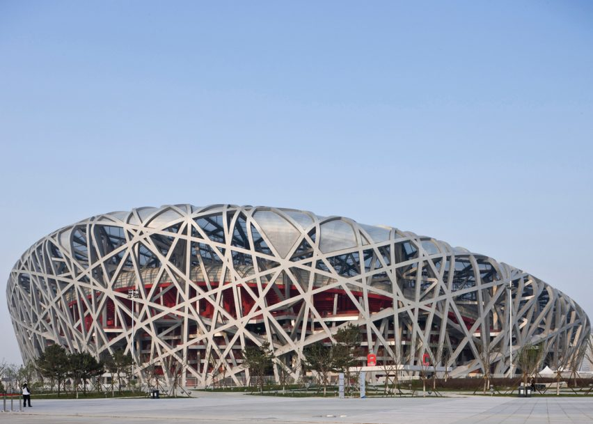 Beijing National Stadium by Herzog & de Meuron, Beijing 2008
