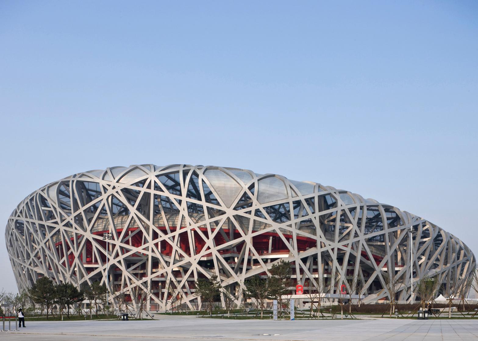 Beijing National Stadium by Herzog & de Meuron, Beijing 2008