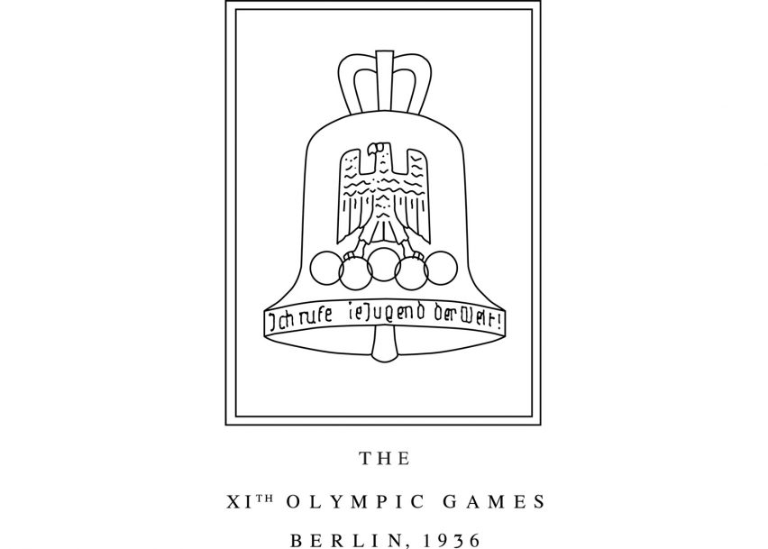 Logo of the 1936 Berlin Olympics