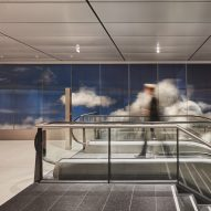 Daan Roosegaarde creates illusion of depth in cloud-filled Beyond installation