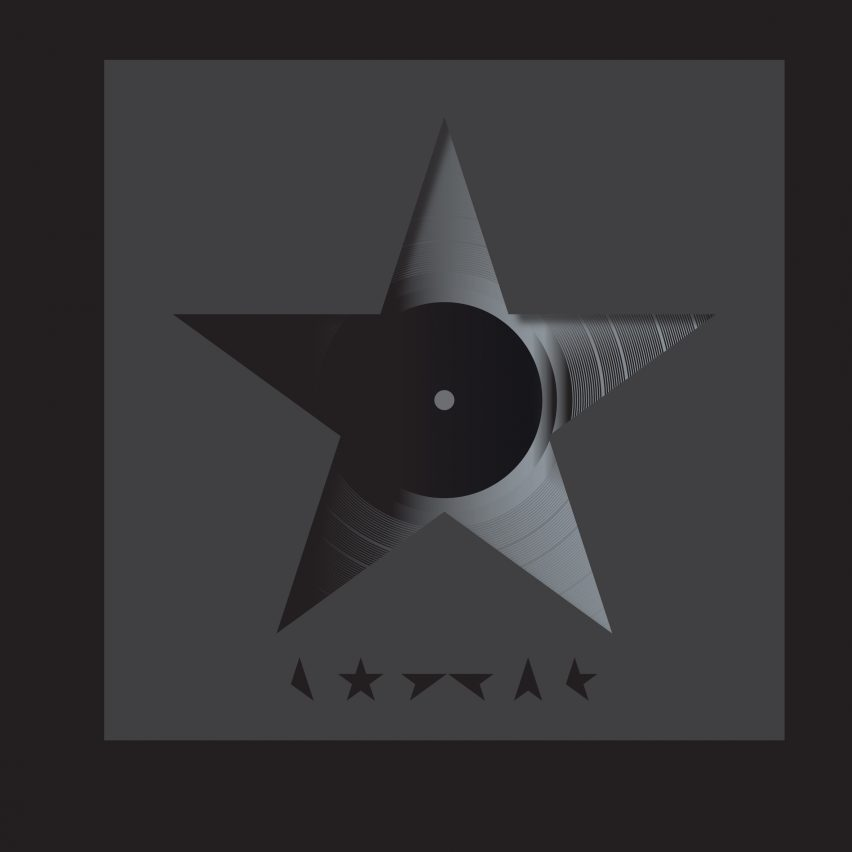 David Bowie's Blackstar album cover by Jonathan Barnbrook Designs of the Year 2016 nominee