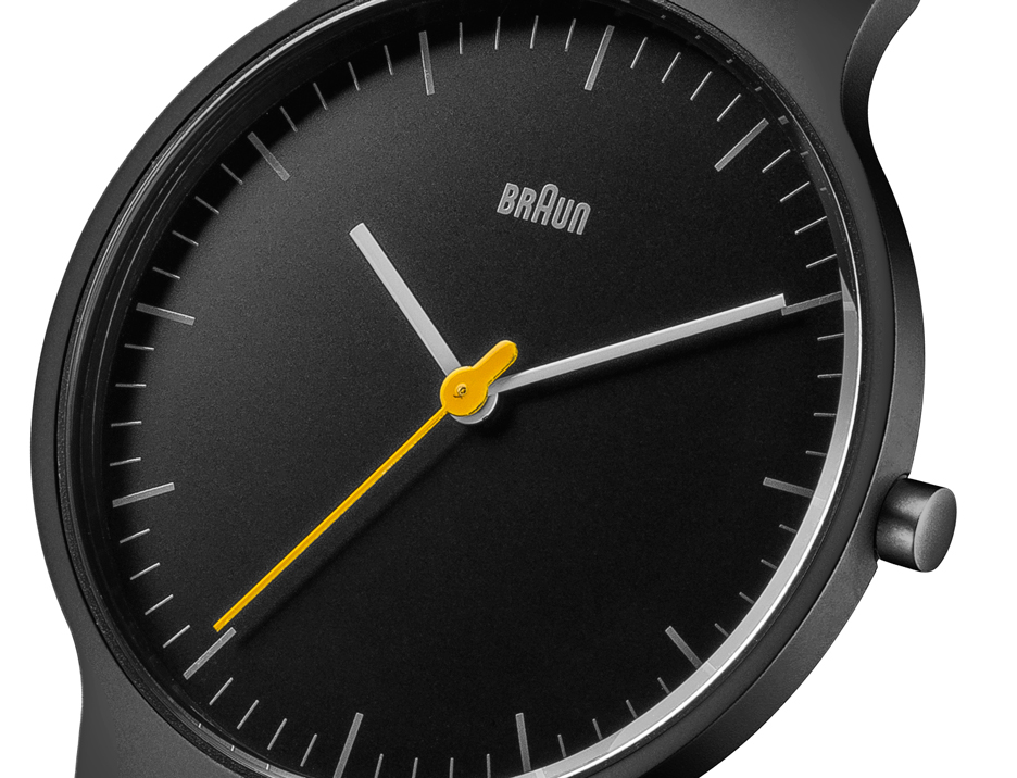New watch range from Braun