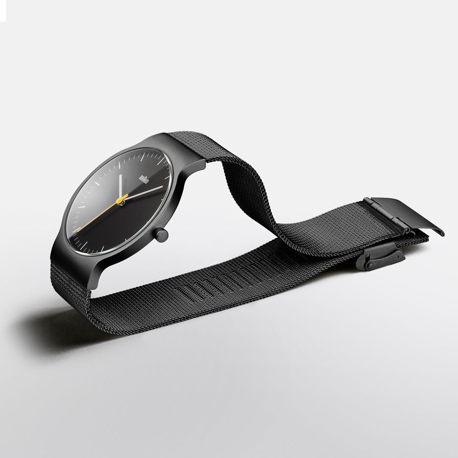 New range added to Dezeen Watch Store's collection of Braun timepieces