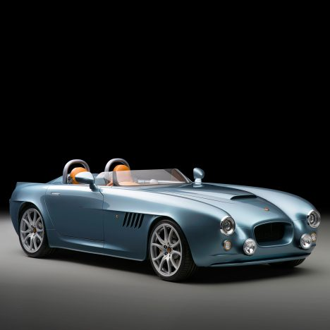 Bristol Cars launches its first model in 10 years