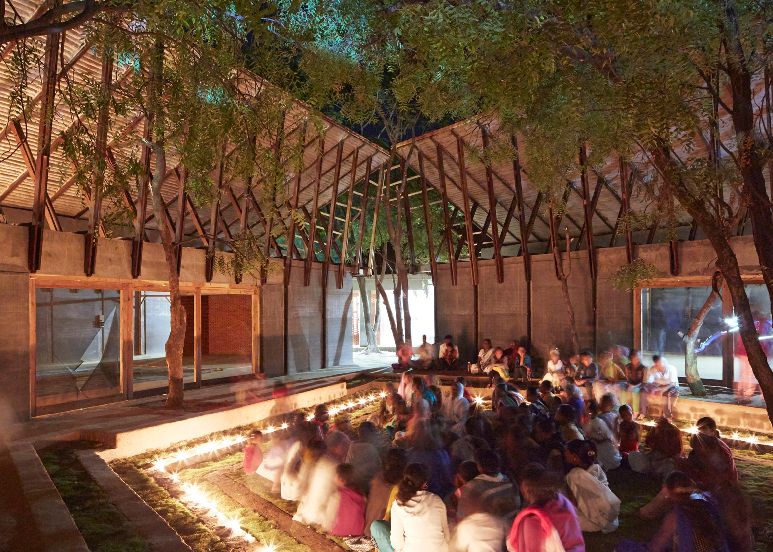 sP+a architects designed the Buddhist learning centre Jetvana