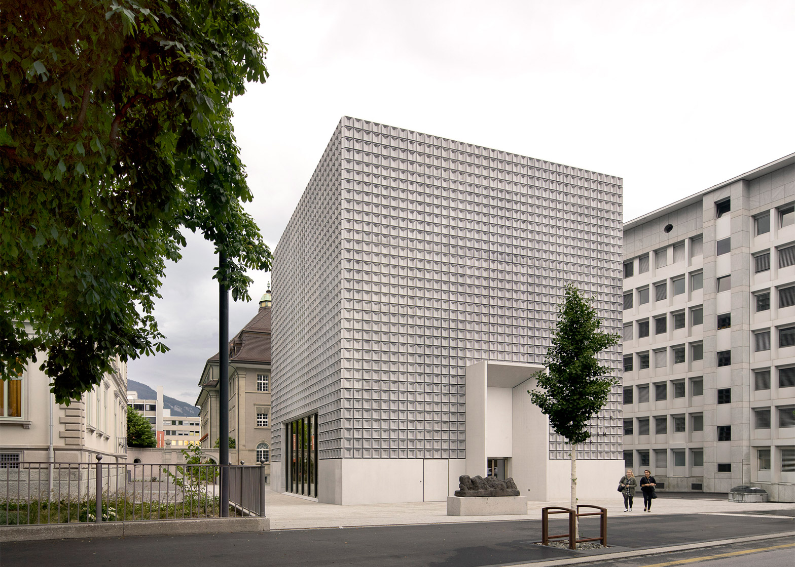 Bündner Kunst museum extension in Chur by Barozzi Veiga