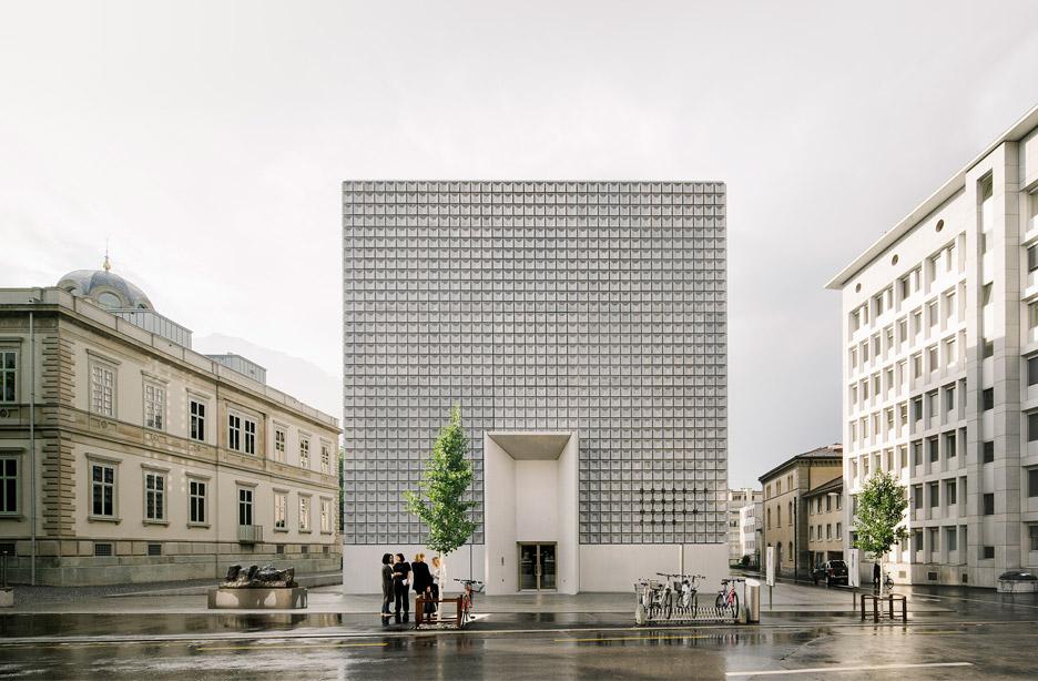 Bündner Kunst museum extension in Chur by Barozzi Veiga