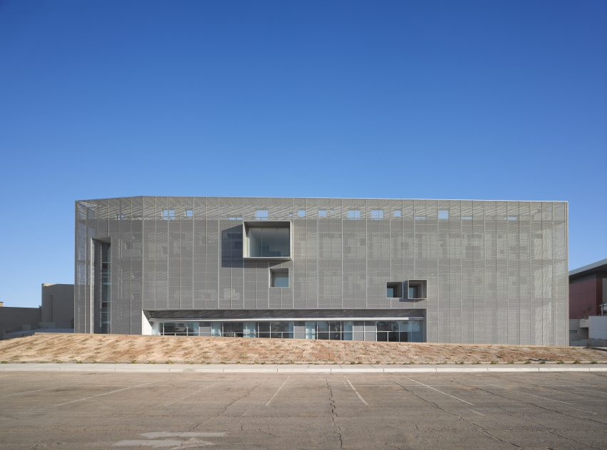Centre for Postgraduate Studies by Studiohuerta