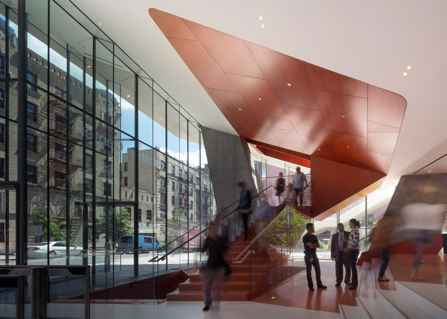 The Vagelos Education Building by DS + R