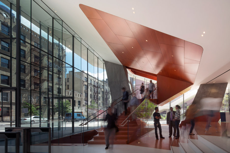 The Vagelos educational building by DS + R