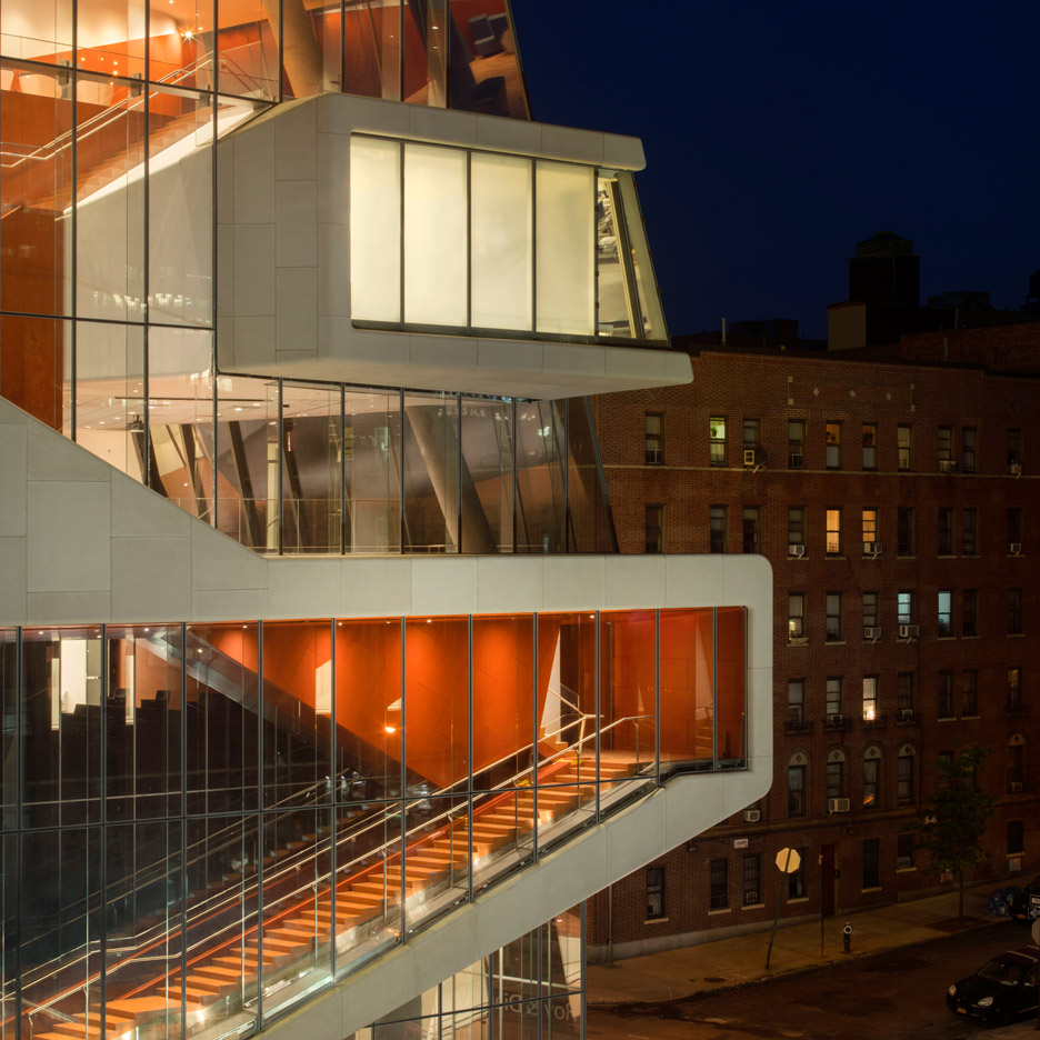 Diller Scofidio + Renfro completes Vagelos Education Center for Columbia University