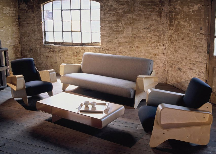 Breuer sofa and armchairs by Ioskon Plus at The Cubitt Pavilion