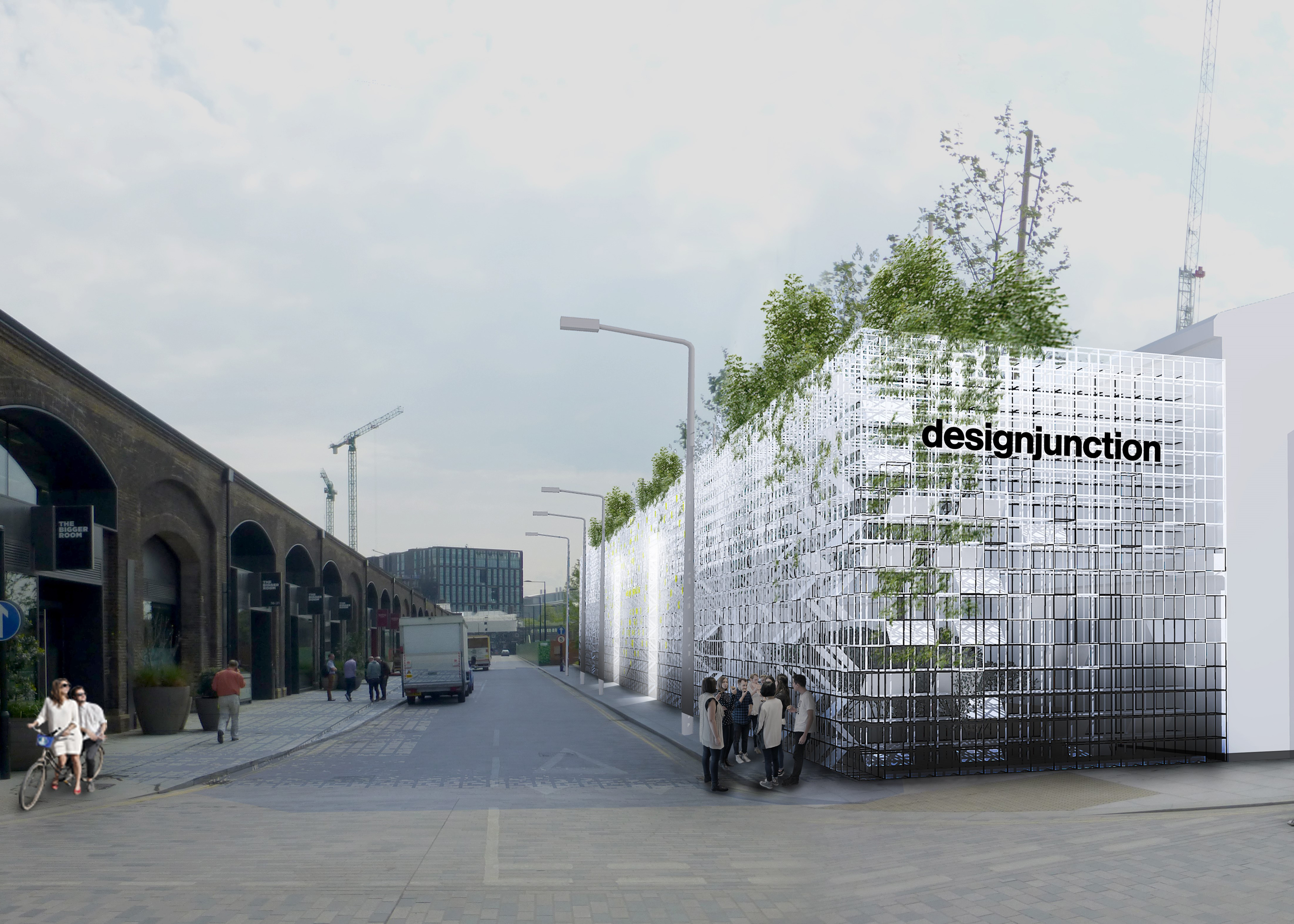 Satellite Architects to create facade installation for designjunction 2016