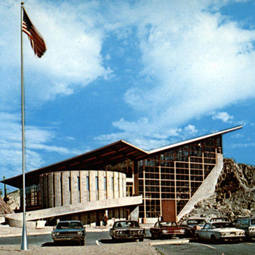 Dinosaur Quarry Visitor Center, Dinosaur National Monument, by Anshen and Allen, 1958