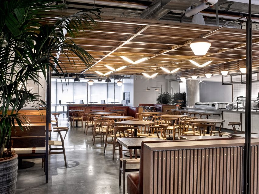 tuck shop dropbox san decoration ideas dropbox headquarters caf by avroko opens industrialstyle cafeteria at california headquarters