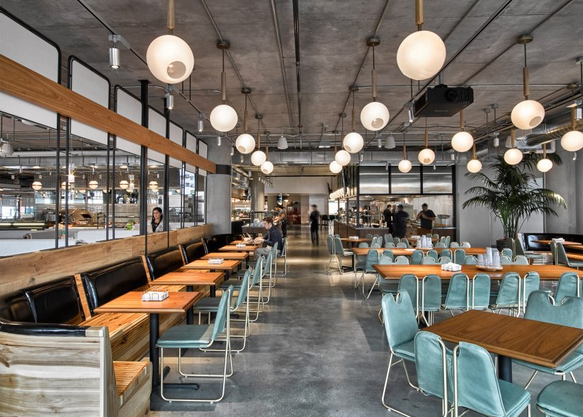 Dropbox opens industrialstyle cafeteria at California headquarters