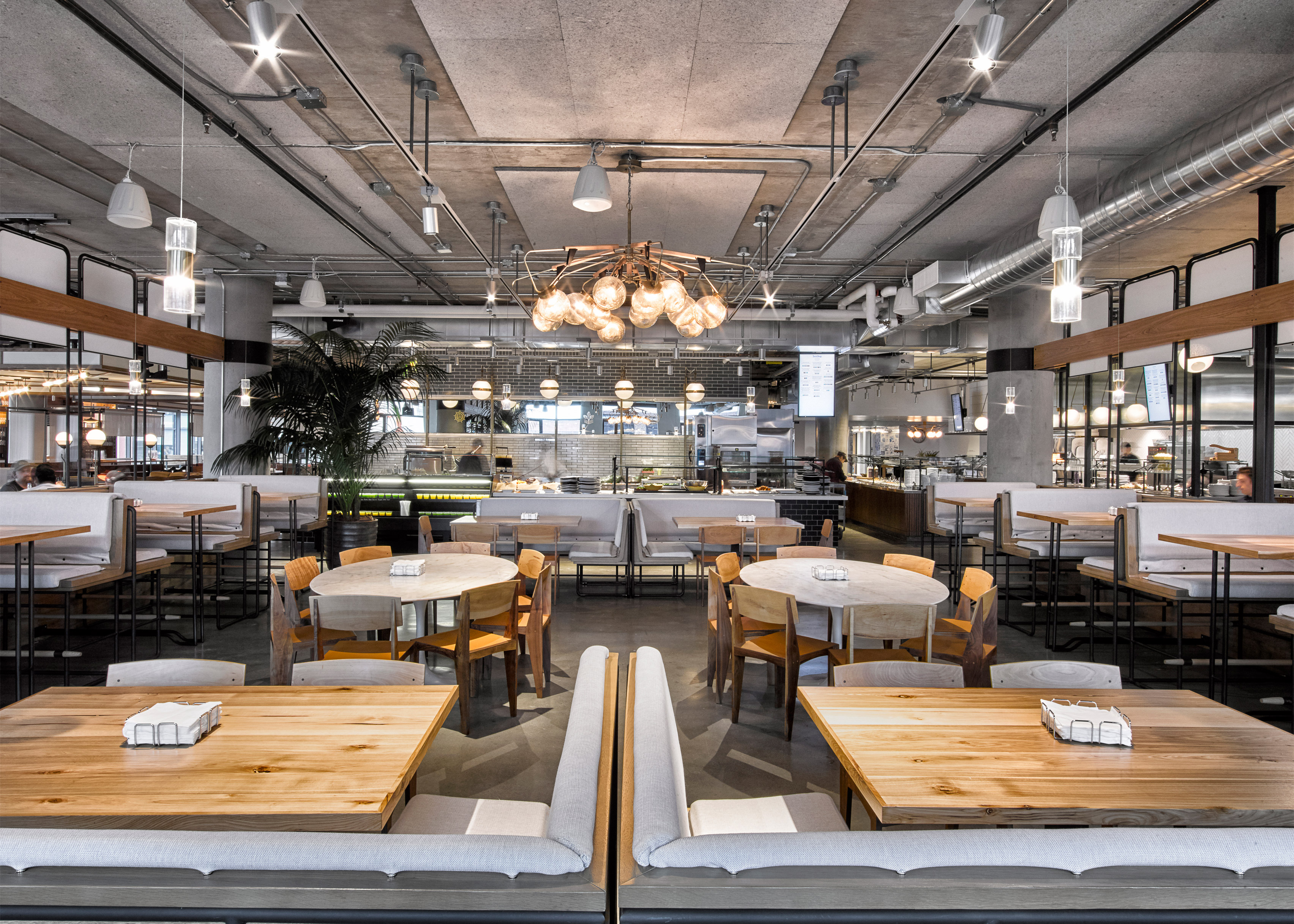 Dropbox Headquarters Café by Avroko