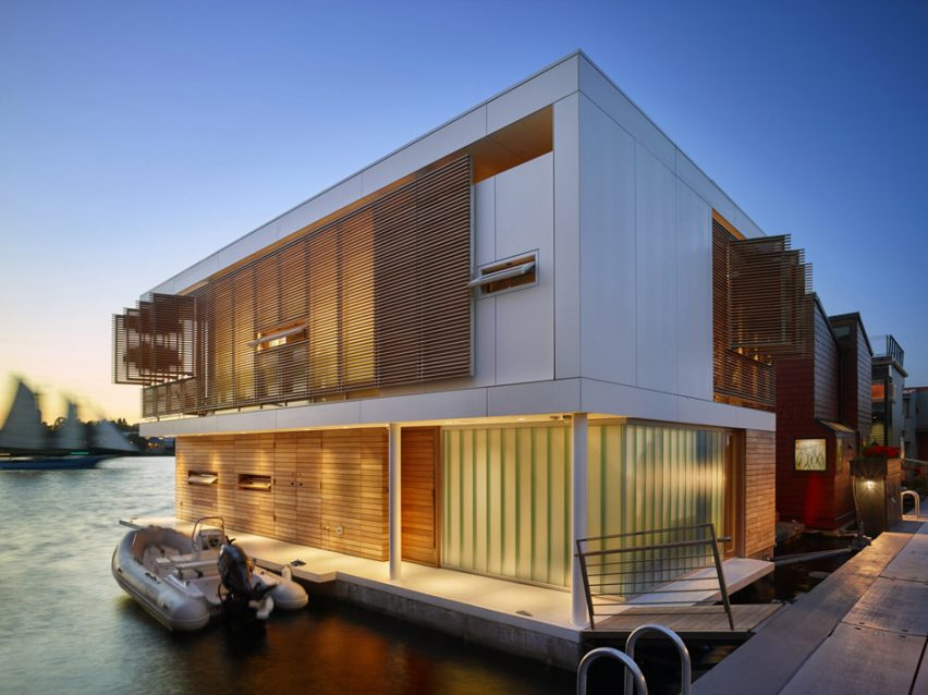 Dunn Floating House by Vandeventer + Carlander