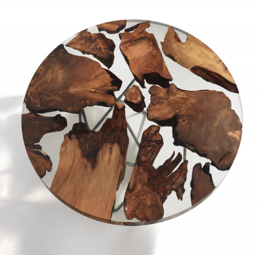 Riva 1920 designs symbolic Earth-shaped table for World Trade Center