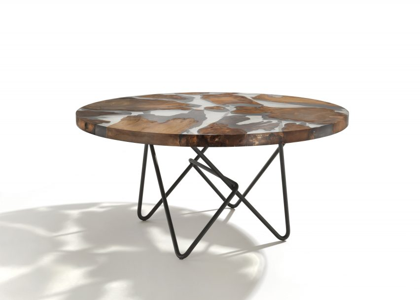 6 Of Riva 1920 Designs Symbolic Earth Shaped Table For World Trade Center