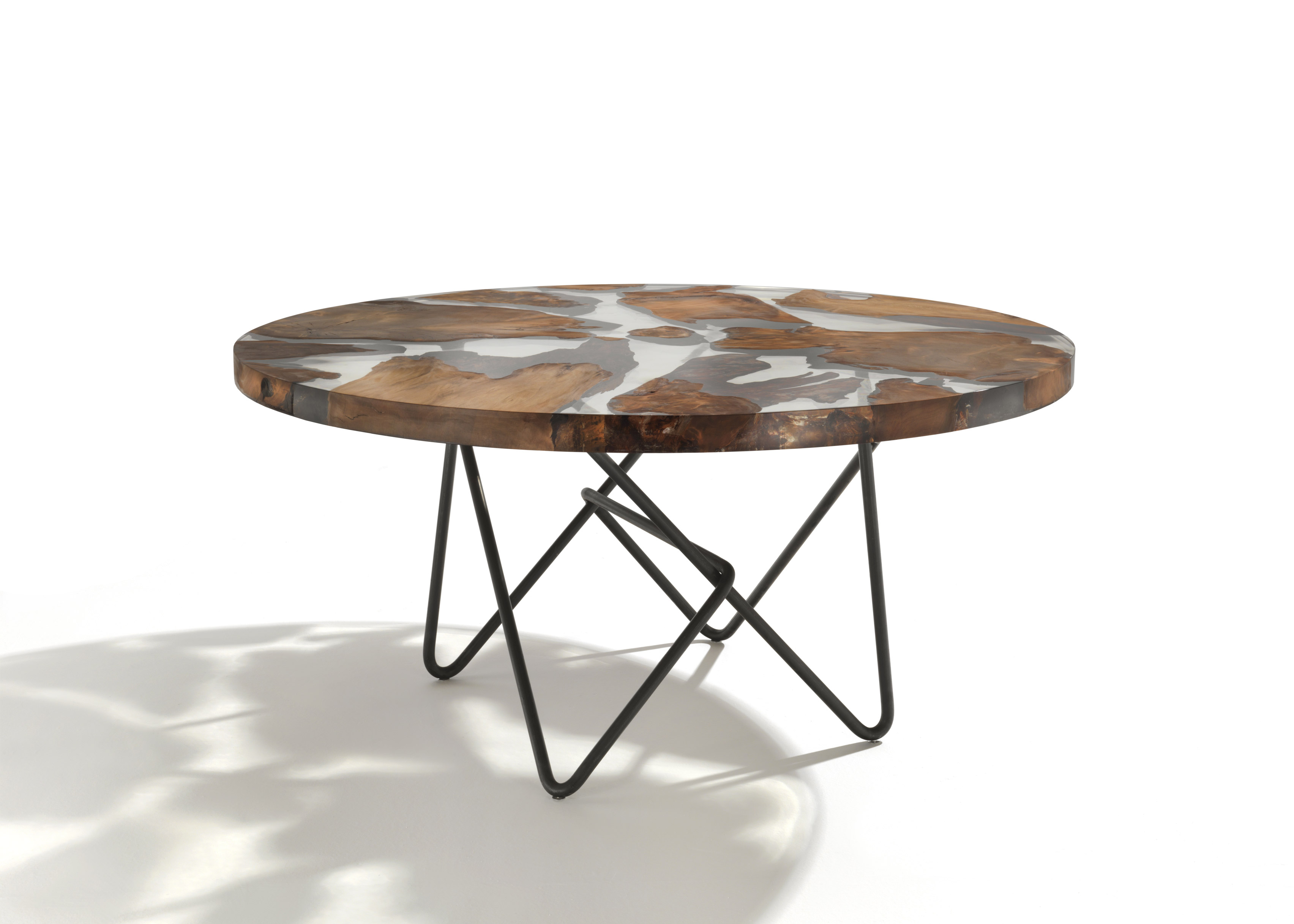 Riva 1920 designs symbolic Earth-shaped table for World Trade Center