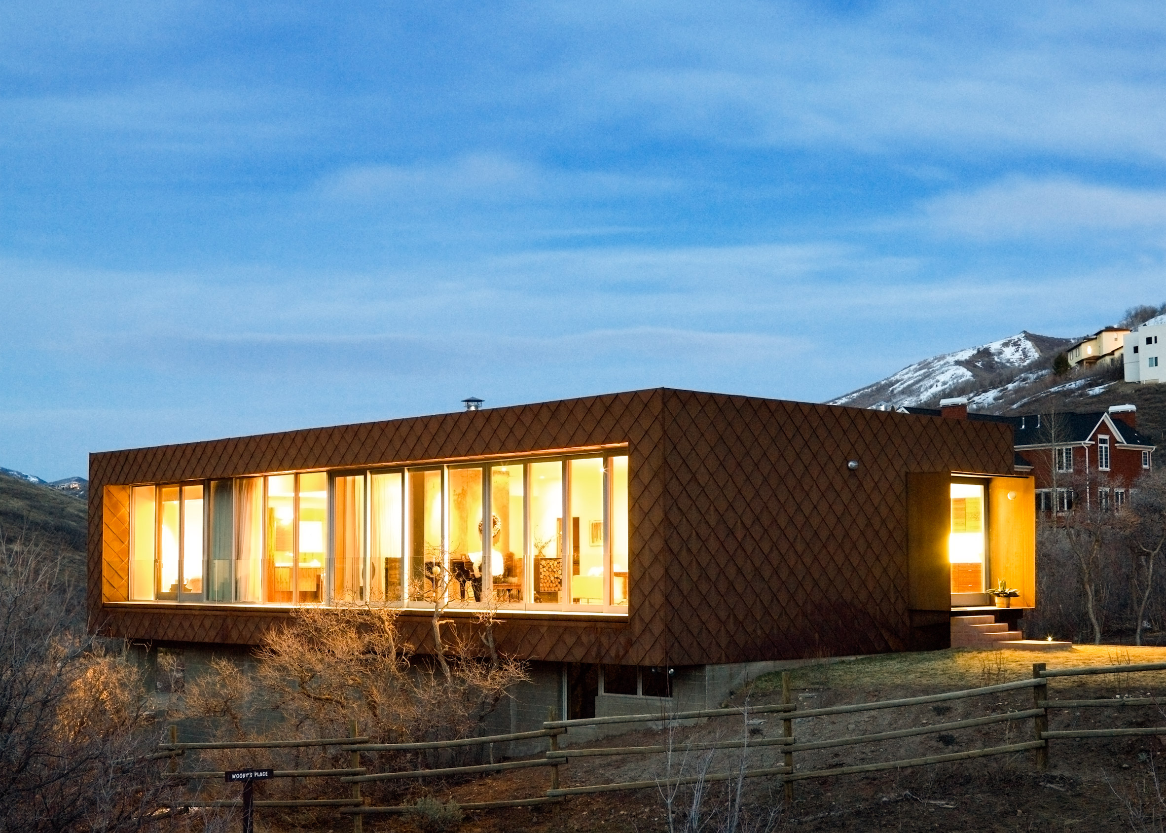 Emigration Canyon House by Sparano + Mooney Architecture