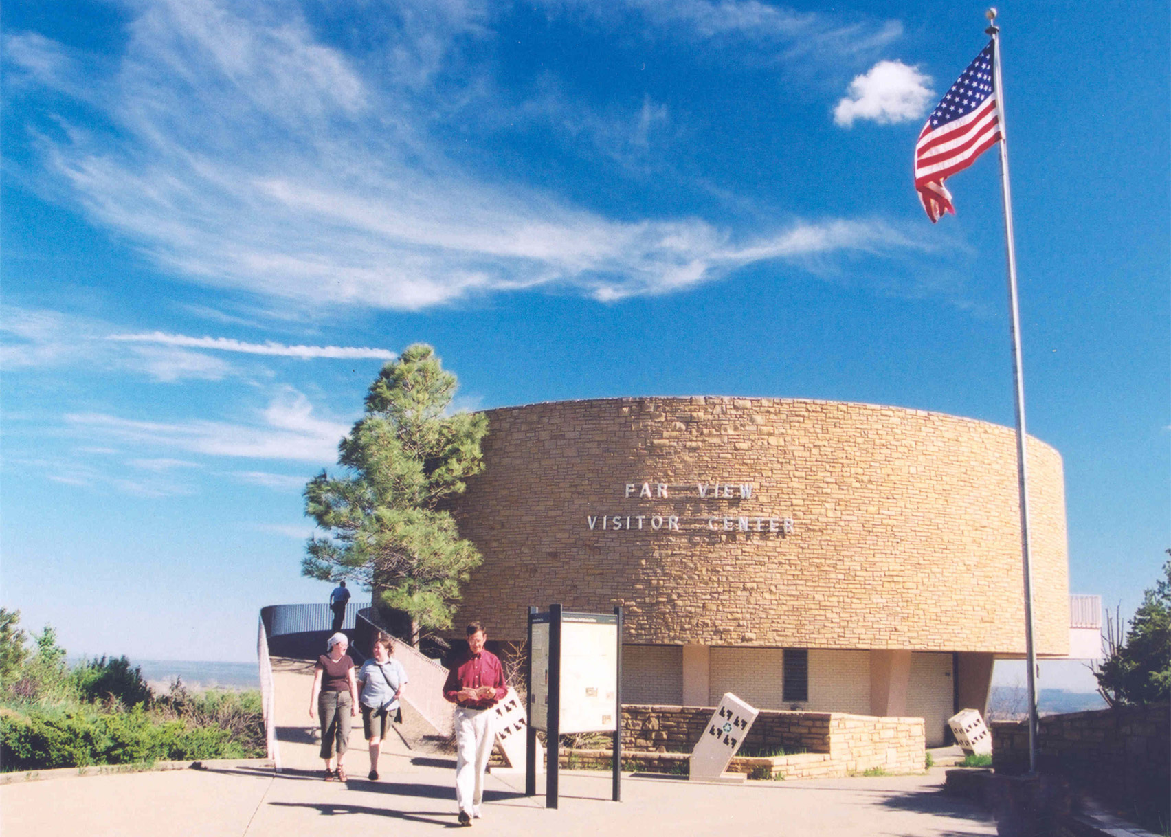 Far View Visitor Center, Mesa Verde National Park, by Joseph and Louise Marlowe, 1965