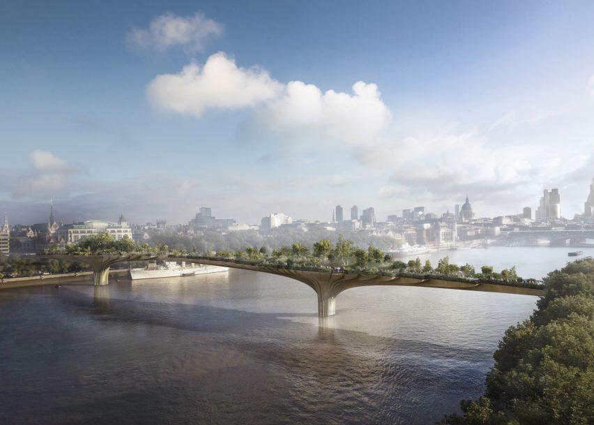 Thomas Heatherwick's Garden Bridge design