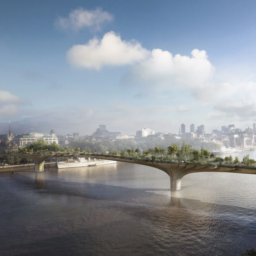 Garden Bridge design by Thomas Heatherwick