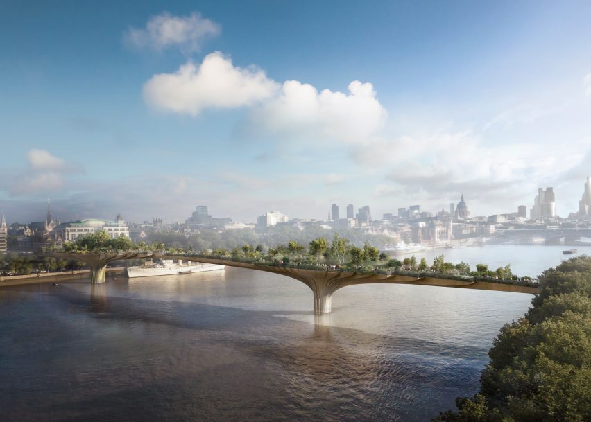 UK government renews support for Garden Bridge but reduces offer by £6 million