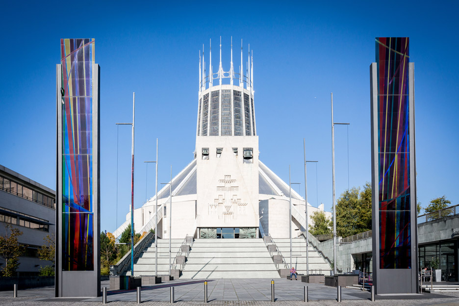Liverpool Metropolitan Cathedral, UK, by Sir Frederick Gibberd