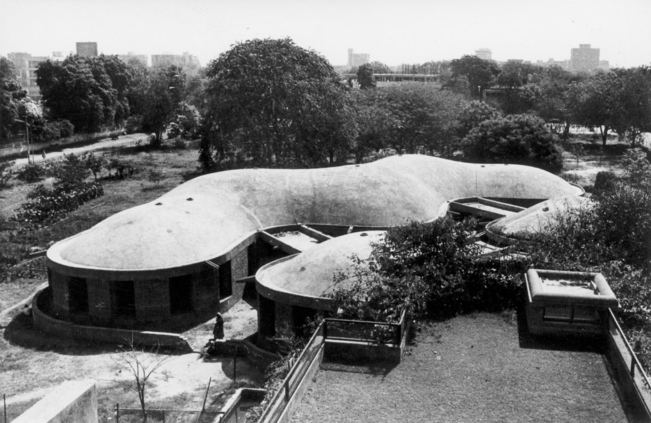 Workshop Building, India, by Gautam Sarabhai