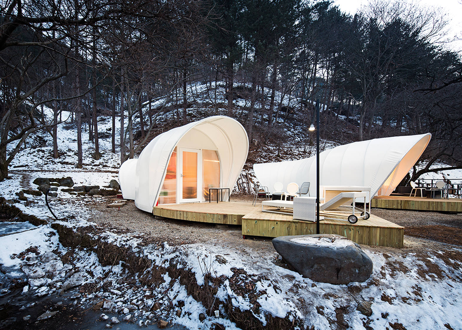 Glamping for Glampers by ArchiWorkshop, South Korea