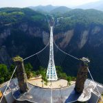 "This week, the world's longest glass bridge opened in China and the ""Flying Bum"" crashed"