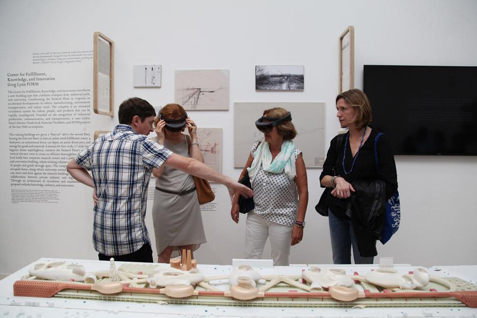Hololens at Venice Architectue Biennale 2016 by Greg Lynn