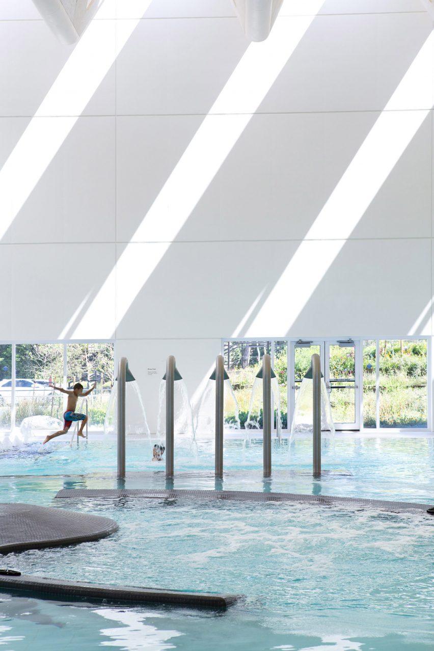 Guilford Aquatics Centre by Bing Thom Architects