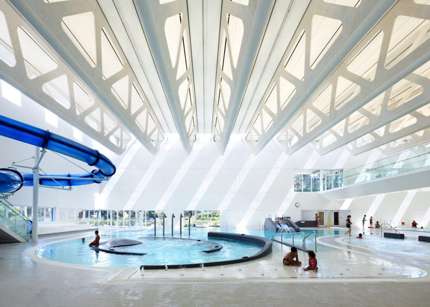Guilford Aquatics Centre by Bing Thom Architects