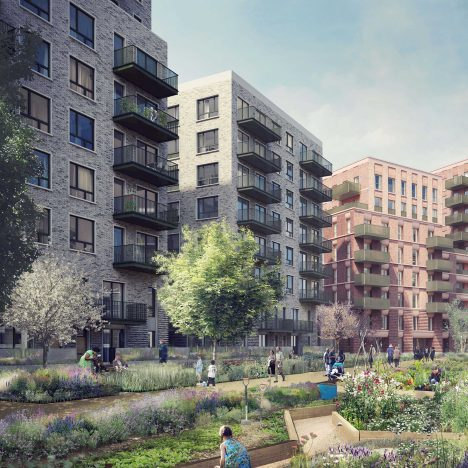 Replacement housing revealed for London's doomed Robin Hood Gardens