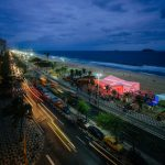 Henning Larsen Architects opens sail-covered Danish pavilion for Rio Olympics