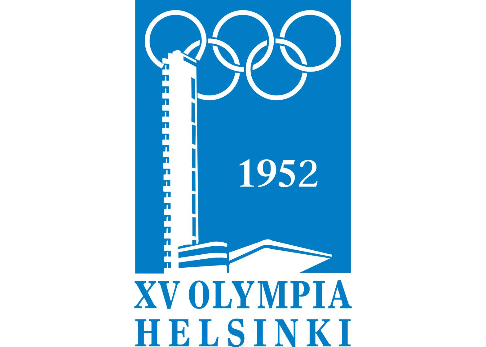 Logo of the 1952 Helsinki Olympics