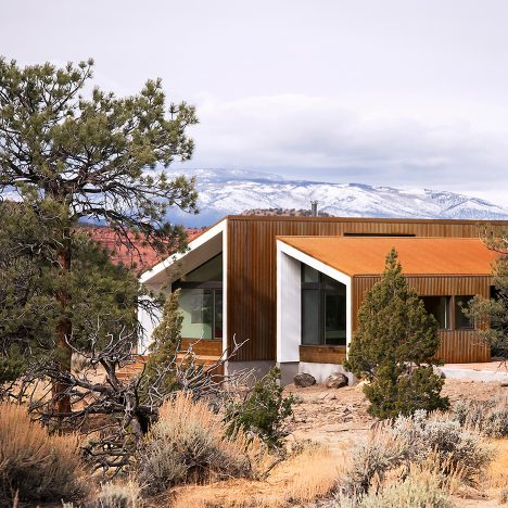 Five of the best houses in Utah on Dezeen