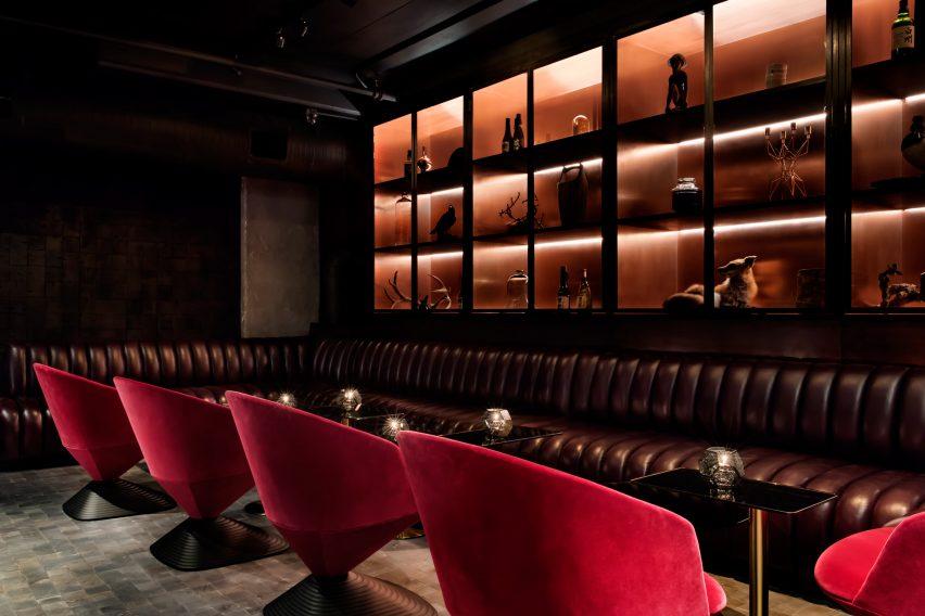 Himitsu lounge by Tom Dixon