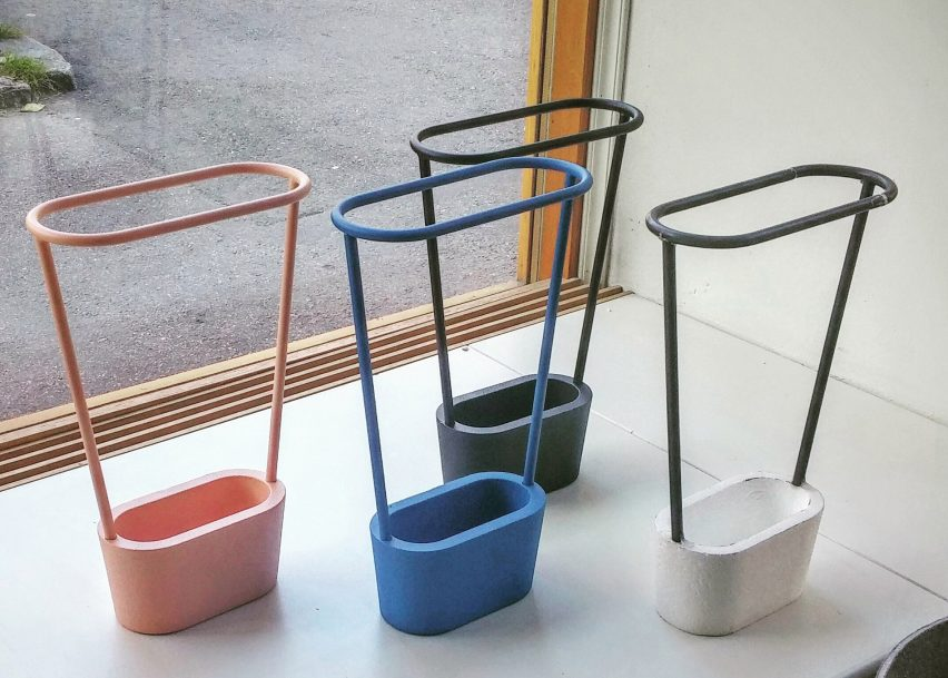 Hoop Umbrella Stand by NakNak