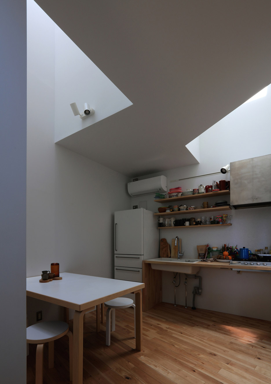 Four-metre-wide House in Hommachi built in Tokyo by Atelier HAKO Architects