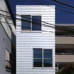 Four-metre-wide house built in Tokyo by Atelier HAKO Architects