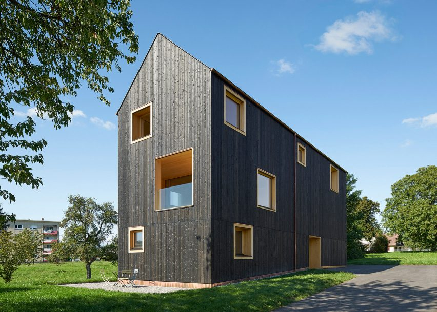 House Bäumle by Bernardo Bader Architekten