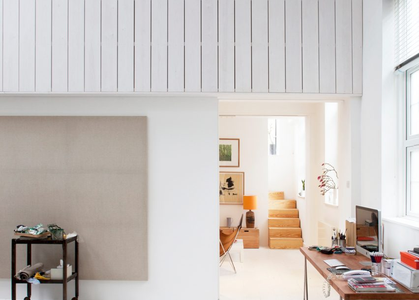 Dingle Price Architects creates house for a painter in London