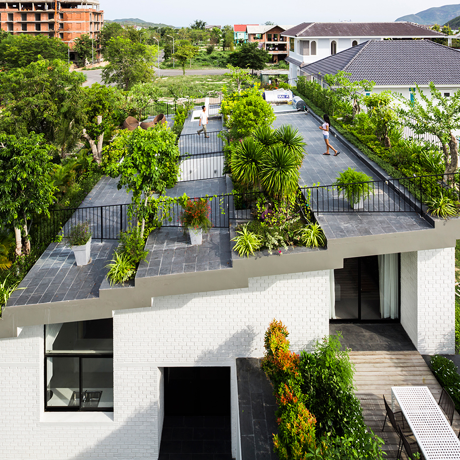 Uncategorized Rooftop Garden House rooftop gardens dezeen stepped garden tops house in nha trang by vo trong nghia and masaaki iwamoto
