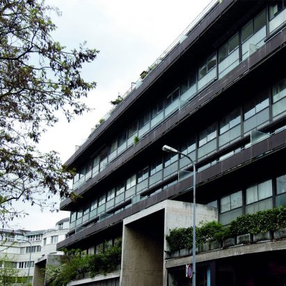 Immeuble Clarté in Geneva by Le Corbusier and Pierre Jeanneret