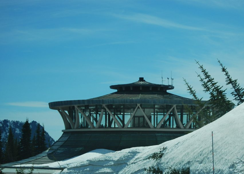 Henry M Jackson Visitor Center, Mount Rainier National Park, by Whimberley, Whisenand, Allison & Tong, 1966